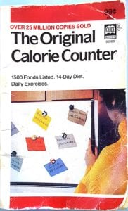 My good old Calorie Counter pocket book. I've had this since the late 1980s. Really. And it definitely contributes to Smug Sunday.