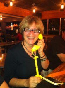 Dawne making calls