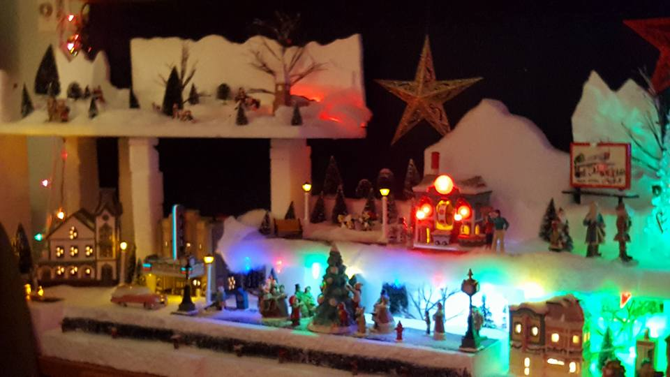Coach Dawne's Christmas Village